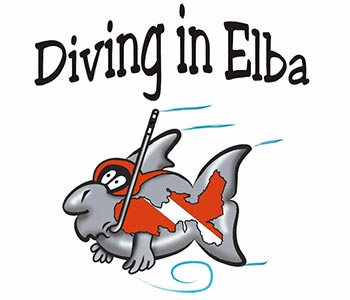 diving in elba logo