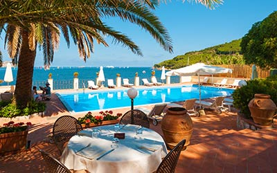 Hotel villa ottone isola d 39 elba albergo 5 stelle a for Luxury hotel 5 stelle