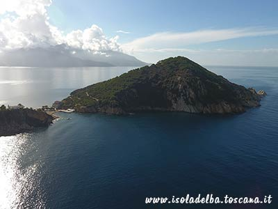 promontorio dell'enfola all'isola d'elba